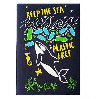 WPL Keep The Sea Plastic Free - Note Book