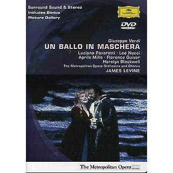 G. Verdi - Ballo in Maschera-Comp Opera [DVD] USA import