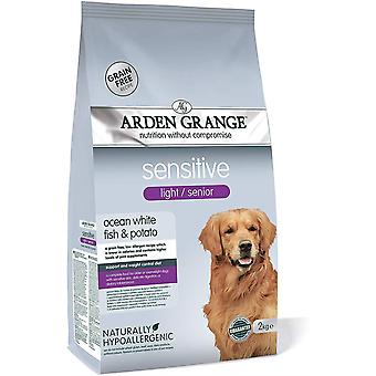 Arden Grange Light Senior Dog Sensitive - 2kg