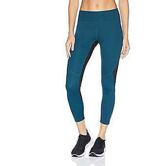 Brand - Core 10 Women's Standard Race Day Colorblock Run 7/8 Crop Legg...