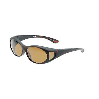 Sunglasses Unisex brown with brown lens Vz0002lb