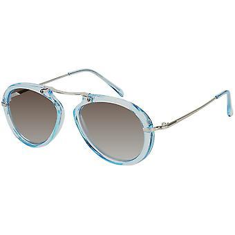 Sunglasses Women with Mirror Glass Blue (AZ-17-212)