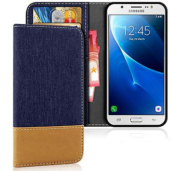 Samsung Galaxy J5 (2016) TPU Denim Mobile Protection Shockproof Shell Protection Full Cover