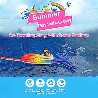4.8m Children's Waterslide Inflatable Summer Water Kids Fun Outdoor Surfing Board Garden Toy