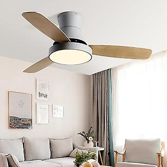 Celling Fan With Lamp For Dining Room, Living Room,  Wooden Type Simple