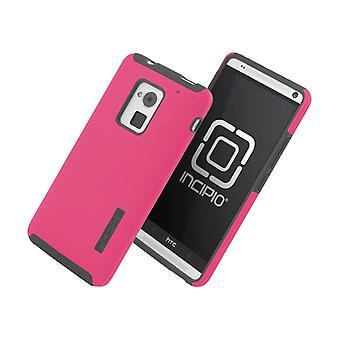 Incipio DualPro Case for HTC One Max - Cherry Blossom Pink/Gray