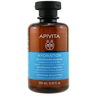 Apivita Moisturizing Shampoo with Hyaluronic Acid & Aloe (For All Hair Types) 250ml/8.45oz