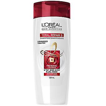 L'Oréal Paris Hair Expertise Total Repair 5 Shampoo, 591 ml