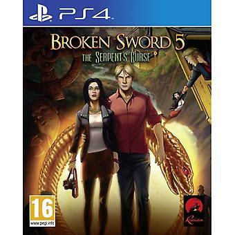Broken Sword 5 The Serpent's Curse PS4 Game