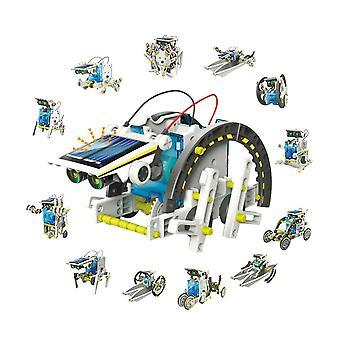 Solar Power Robot Kit Diy Legetøj Solar Transformation Robot Kit Pædagogisk Gave legetøj til børn Boy