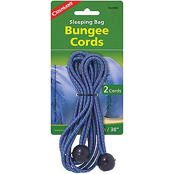 Coghlan's Sleeping Bag Bungee Cords (2 Pack), Stretch Ties for Camping Boating