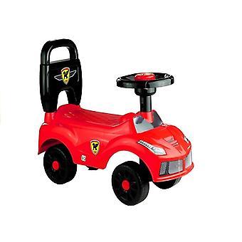 Cărucior roșu - mașină pentru copii mici - 42 x 21,5 x 15,5 cm
