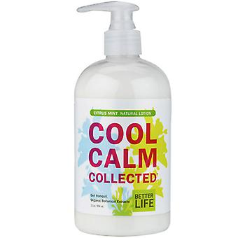 Better Life Natural Hand and Body Lotion Citrus Mint Cool Calm Collected, 12 oz