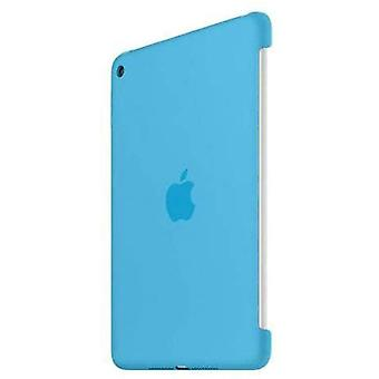 Apple - Back cover for iPad mini 4 tablet - Silicone - Blue Colour