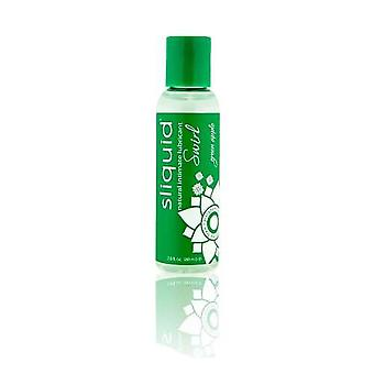 Sliquid naturals swirl flavoured lubricants-green apple 59 ml / 2 fl oz