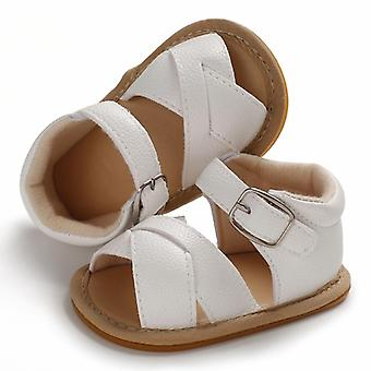 Summer Sandals-newborn Leather Sole Crib Shoes