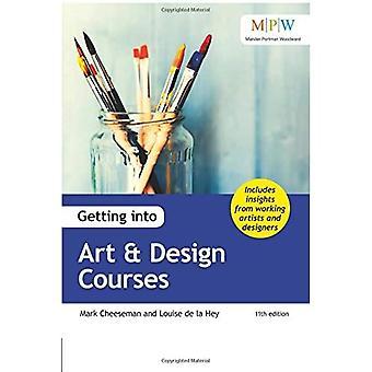 Getting into Art & Design cursussen