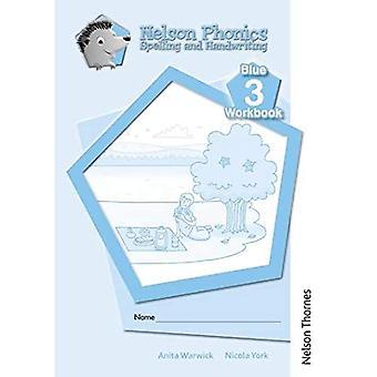 Nelson Phonics Spelling en Handschrift Blauwe Werkboeken 3 (10)