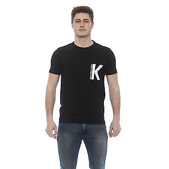 Karl Lagerfeld Adonee Musta K Print T-paita