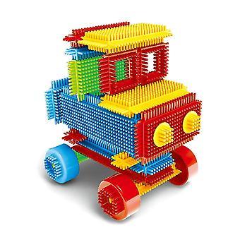 Kid Bristle Shape 3d Building Blocks Tiles Construction Playboards