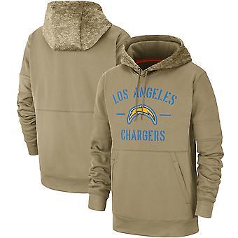 Men's Los Angeles Laturit Slant Strike Tri-Blend Raglan Pullover Huppari Top WYG050