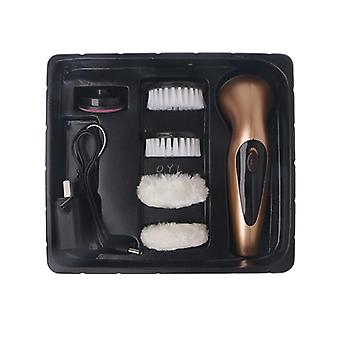 Portable Handheld, Rechargeable, Automatic Electric Shoe Brush, Shine Polisher