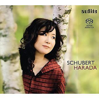 F. Schubert-Hideyo Harada näytelmiä Schubert [SACD] USA Import