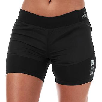 Women's adidas Adapt To Chaos 3-Inch Shorts in Black