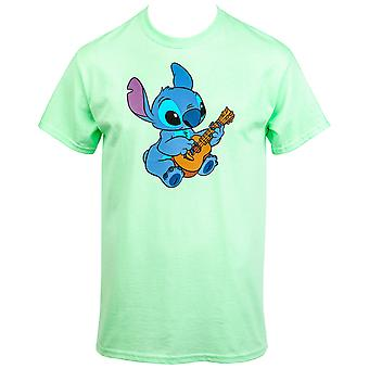 Lilo ja Stitch Ukulele Aloha T-paita
