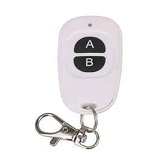 Dois botões switch remoto interruptor sem fio 2 toque controle remoto branco