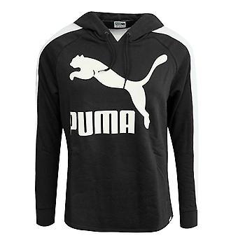 Puma Archive Logo T7 Naisten Huppari Pitkähihainen Top Musta 572489 56 A109D