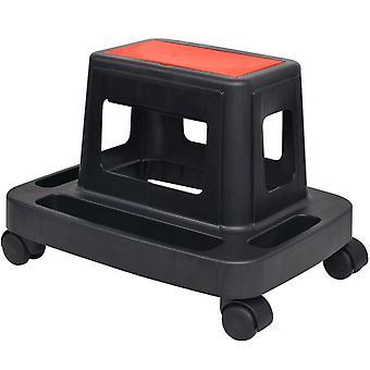 валиковый табурет vidaXL с полкой и отсеками для хранения 150 кг
