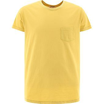 Levi's 408500097 Männer's gelbe Baumwolle T-shirt