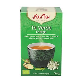 Green Tea Energy 17 infuusiopussit