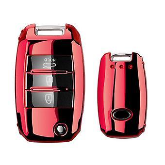 Nieuwe Soft Tpu Car Key Case Shell Voor Kia Rio Ql Sportage Ceed Cerato Sorento