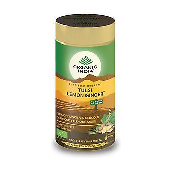 Tulsi Lemon Ginger in bulk 100 g of powder