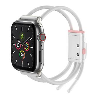 Baseus Sport Band for iWatch 38mm / 40mm - Cotton Bracelet Wristband Watchband White