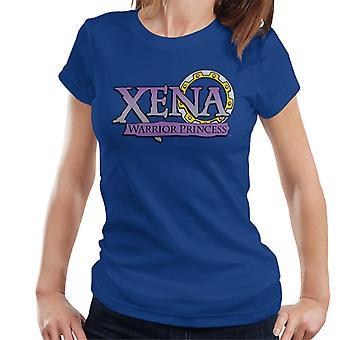 Xena Warrior Princess Lila Lutning Logo Kvinnor' s T-shirt