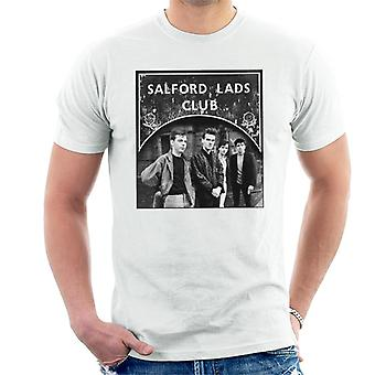 Salford Lads Clubs The Smiths Black & White Men's T-Shirt