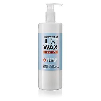 Salon System Just Wax Expert Protect & Calm Waxing Lotion