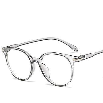 Anti-blaues Licht, Vintage Runde klar, Objektiv-Brille, Spektakel Rahmen und Frauen