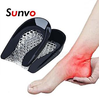 Shock Absorption Plantar Fasciitis Pain Relief Foot Care Silicone Gel Heel Pad