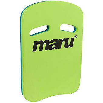 Maru Two Grip Fitness Kickboard - Lime/Blue