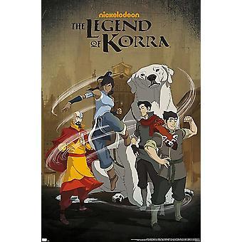 The Legend of Korra Poster The Legend of Korra, Group 86.4 x 56.8 cm