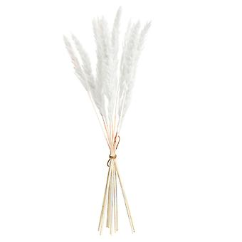 Bulrush Natural Dried Flowers, Artificial Plants Branch Fake Flower Home