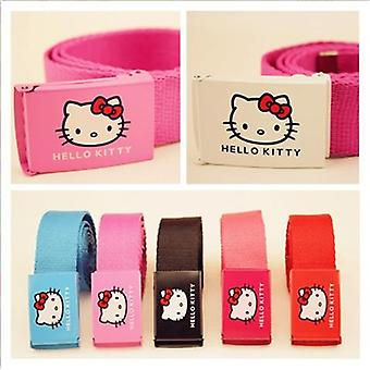 Hello Kitty's Student Canvas Belt