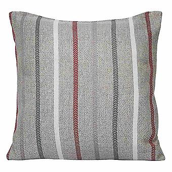カラーストリップシンプルな枕カバーポリエステルスクエア枕カバー(ソファとベッド45x45cm用)