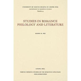 Mario A. Pein romanssifilologian ja kirjallisuuden opinnot - 9780807