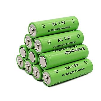 1.5v New Aa Rechargeable Battery 4800mah Alkaline For Led Light Toy Mp3
