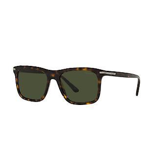 Prada SPR18W 2AU0B0 Tortoise/Green Sunglasses